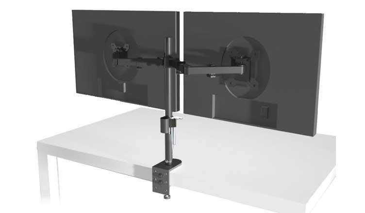 Wali Dual Lcd Monitro Desk Dual Monitor Stand