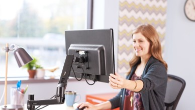 AmazonBasics Single Monitor Display Mounting Arm