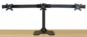 EZM Deluxe Triple Monitor Mount Stand