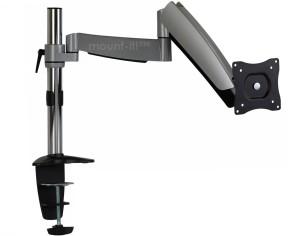 mountit dual adjustable monitro stand