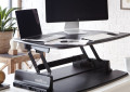 Height Adjustable Standing Desk VARIDESK Pro 36 monitor stand